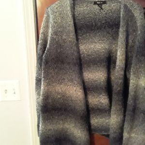 Style n co open front sweater
